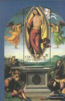 Vatikanstadt Block25 (kompl.Ausg.) postfrisch 2005 Altarbild des Perugino