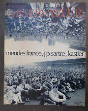 Le Nouvel Observateur n°188, du 19 au 26 juin 1968