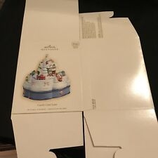 ***BOX ONLY*** HALLMARK 2007 CANDY CANE LANE ***REPLACEMENT BOX***