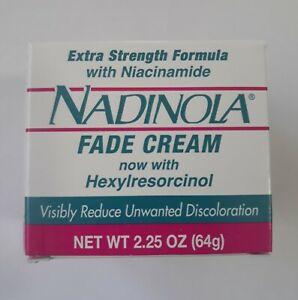 Nadinola Hydroquinone Free ~ Skin Tone Cream ~ 2.25oz ~ NEW!!!