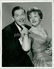 1959 Milton Berle and Jo Stafford Original News Service Photo