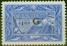 More details for canada 1951 $1 ultramarine sg0192 v.f lightly mtd mint