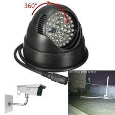 360 ° 48 LED luz de visión nocturna iluminador CCTV IR Infrarrojo Lámpara Home S190 (1)