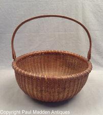 Antique Nantucket Basket by Ferdinand Sylvaro