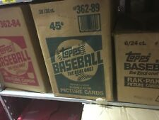 Old Baseball Card - Unopened Packs fr Wax Box.  Huge Vintage 100 Card Lot