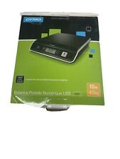 Dymo M10 Digital Usb Postal Scale 10 Lb Tested And Working