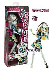 Monster High COFFIN BEAN FRANKIE STEIN Doll New Coffee Shop Cafe Latte Ghouls