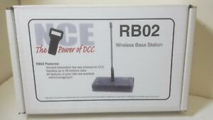 NCE 0023 RB02 Wireless Base Station with Expansion Ports for 2 Repeaters 916MHz