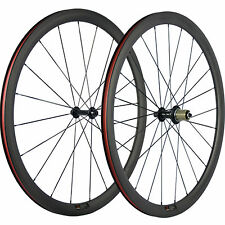 Tubeless Carbon Wheels 38mm Carbon Wheelset 23mm Wide R13 Road Bike Wheel 700C