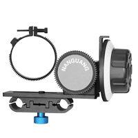 CN-90F Follow Focus + Lens Gear Ring Belt for Canon Nikon DSLR Camera Camcorder