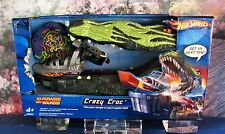 New Sealed Hot Wheels Crazy Croc 10 Phrases Sounds Blast to Safety Swamp Boat