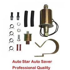 LOW PRESSURE ELECTRIC Fuel Pump Solenoid Type 12 volt 2.5PSI-4.5PSI 30GPH
