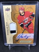 2018-19 UPPER DECK ENGRAINED Nicolas Roy ROOKIE AUTO PATCH  53/65