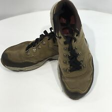 MERRELL Men's All Out Evade BROWN Leather Canvas Walking Shoes J53573 EUC