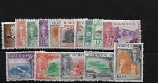 DOMINICA SG120/34, 1951 SET LIGHTLY MOUNTED MINT