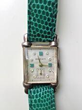 Tiffany & Co Damenuhr. Vergoldete Uhr mit Handaufzug. Art Deco 30er 40er