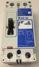NEW Cutler Hammer 20 Amp 2 Pole Circuit  Breaker EHD2020H08