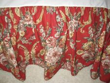 Ralph Lauren Danielle Marseilles Calif King/Western King Bed Skirt 15 Drop Nwot