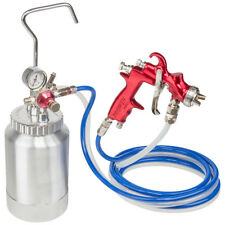 Prowin Tools 2 Litre 1.2mm Nozzle Pressure Feed Spray Gun System PW2LTRK12