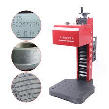 Kt Qd01 Pneumatic Dot Peen Marking Engraving Machine For Vin Code Part Name Tag