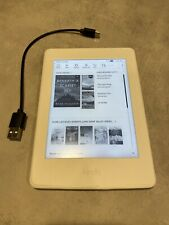 """Kindle Paperwhite E-reader Generation 7 White 6""""High-Resolution WiFi Back-Lit"""