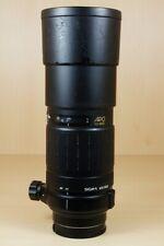 Teleobjectif Sigma 300mm F4 APO TELE MACRO pour Sony Alpha monture Amount