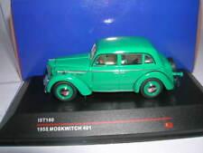 Ixo iST Moskwitch 401 Baujahr 1955 grün green, 1:43 IST180
