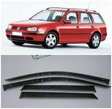 For VW Golf 4 Variant/Wagon 1997-2003 Window Visors Rain Guard Vent Deflectors