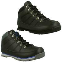 Mens Unsung Hero Boots Outdoor Winter Shoes Hiking Walking Lace Up Franz Black