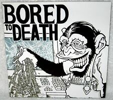 """BORED TO DEATH S/T 7"""" EP PUNK ROCK Japanese Hardcore GOVERNMENT ISSUE Lip Cream"""
