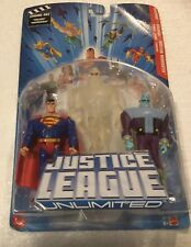 Justice League Unlimited 3 Pack~Superman,Brainiac,Martian Manhunter