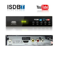 HD Definition Digital Terrestrial ISDB-T H.264 MPEG-4 SET TOP BOX 1080P Receiver