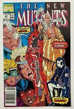 New Mutants #98 1st appearance of Deadpool ~NEWSSTAND VARIANT~L@@K!