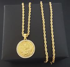Tugra Kolye Gold Kette Osmanli 22 Ayar Altin Kaplama Kuyumcu Modeleri Münze M1
