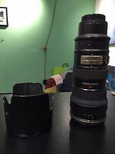 NIKON NIKKOR AF-S 70-200mm f/2.8 G ED VR