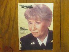 Jan. 6, 1985 Chicago Tribune TV Week Mag(SELMA  DIAMOND/NIGHT COURT/JACK WARDEN)