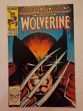 Wolverine Claremont Moench Gerber Milgrom V1 #2 Marvel Comics Presents 1988 NM