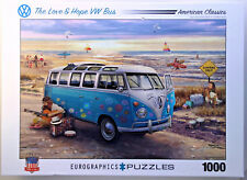 jigsaw puzzle 1000 pc The Love & Hope VW Bus American Classics Greg Giordano
