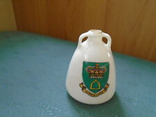 LYNDHURST HAMPSHIRE CREST - EGYPTIAN WATER JAR - GOSS CRESTED CHINA