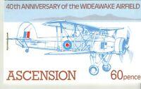 Ascension Island SG SB4 60p Wideawake Airfield Booklet UMM MNH