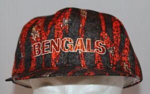 Cincinnati Bengals patterned orange/black baseball hat cap Apex One