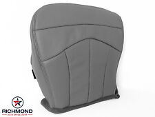 2003 Ford F-150 Lariat 4x4 2wd Super-Crew -Driver Bottom Leather Seat Cover GRAY