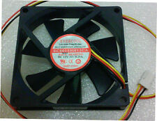 Evercool EC8015HH12CA 80x80x15mm 12V DC Ball Bearing Fan, 3Pin