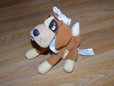 "Disney Store Peter Pan Nana St. Bernard Dog Bean Bag Plush Stuffed Animal 8"" New"