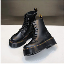 Dr Martins boots Jadon Zip up 1460 1462 8eye Leather martens Ankle shoes US5-10