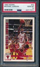PSA 10 MICHAEL JORDAN 1992-93 HOOPS #30 Chicago Bulls HOF GOAT RARE GEM MINT
