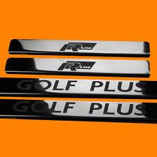 410658 BRILLANT 4 LES SEUILS DE PORTE POUR VW GOLF PLUS MK5 (GOLF PLUS RLINE)