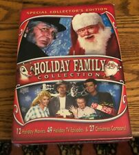 Holiday Family Collection New 8 Dvd 42 Hours Christmas