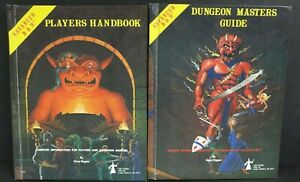 Advanced Dungeons and Dragons MASTERS GUIDE 1979 & PLAYERS HANDBOOK 1978 LOT
