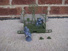 MPC Radar & Weather Platform 1/32 54MM Toy Soldiers WWII